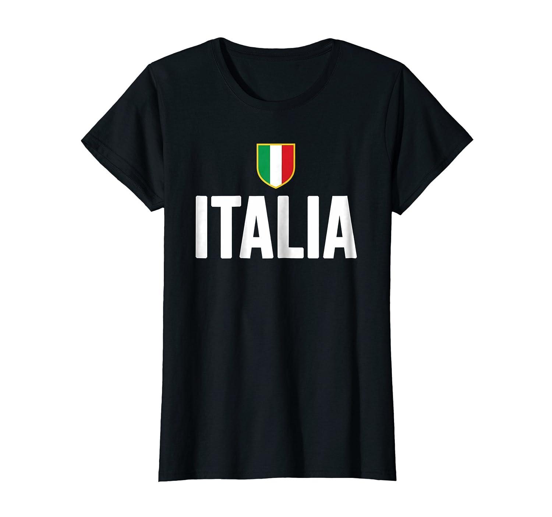 Italia camiseta 2016 Italia fútbol fútbol italiano negro Tee negro X-Large: Amazon.es: Ropa y accesorios