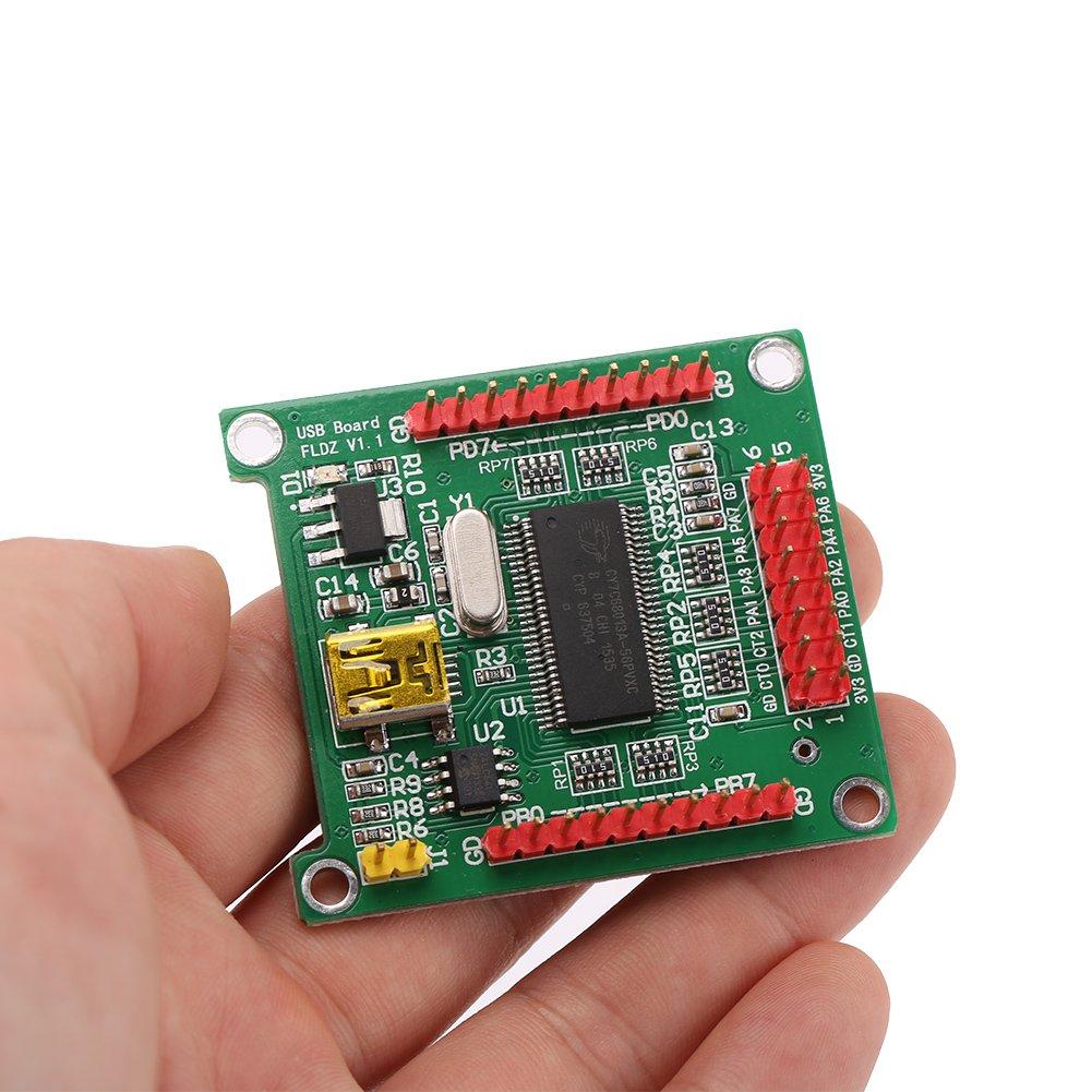 CY7C68013A USB 2.0-Steuerplatinen-Logikanalysatormodul f/ür ADF4350 59 4351//5355 AD9958