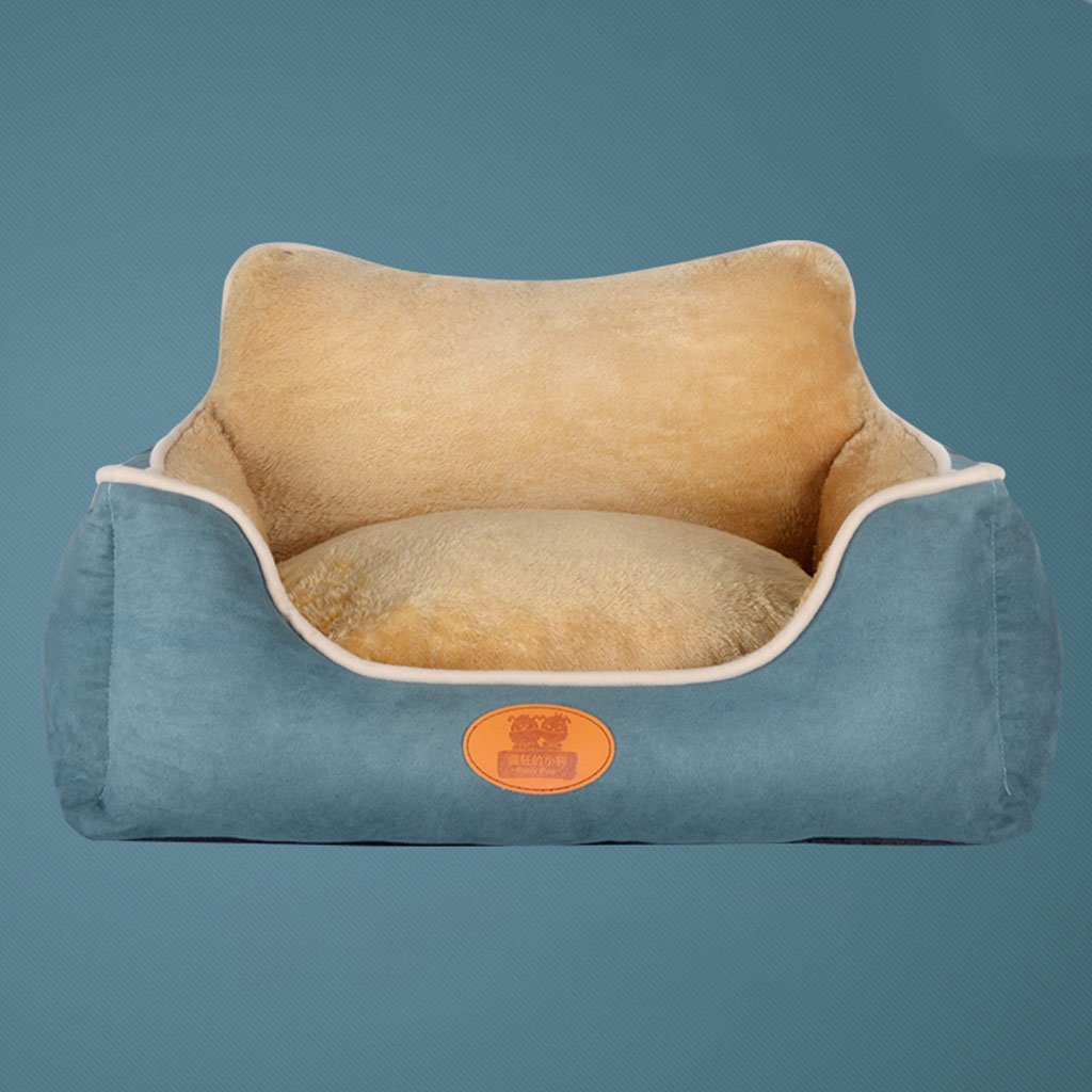 D 706022CM D 706022CM RMJAI Teddy Kennel Removable And Washable Pet Mat Simple And Comfortable Dog Bed Warm Soft Pet Sofa Four Seasons Universal Cat Litter Pet nests (color   D, Size   70  60  22CM)