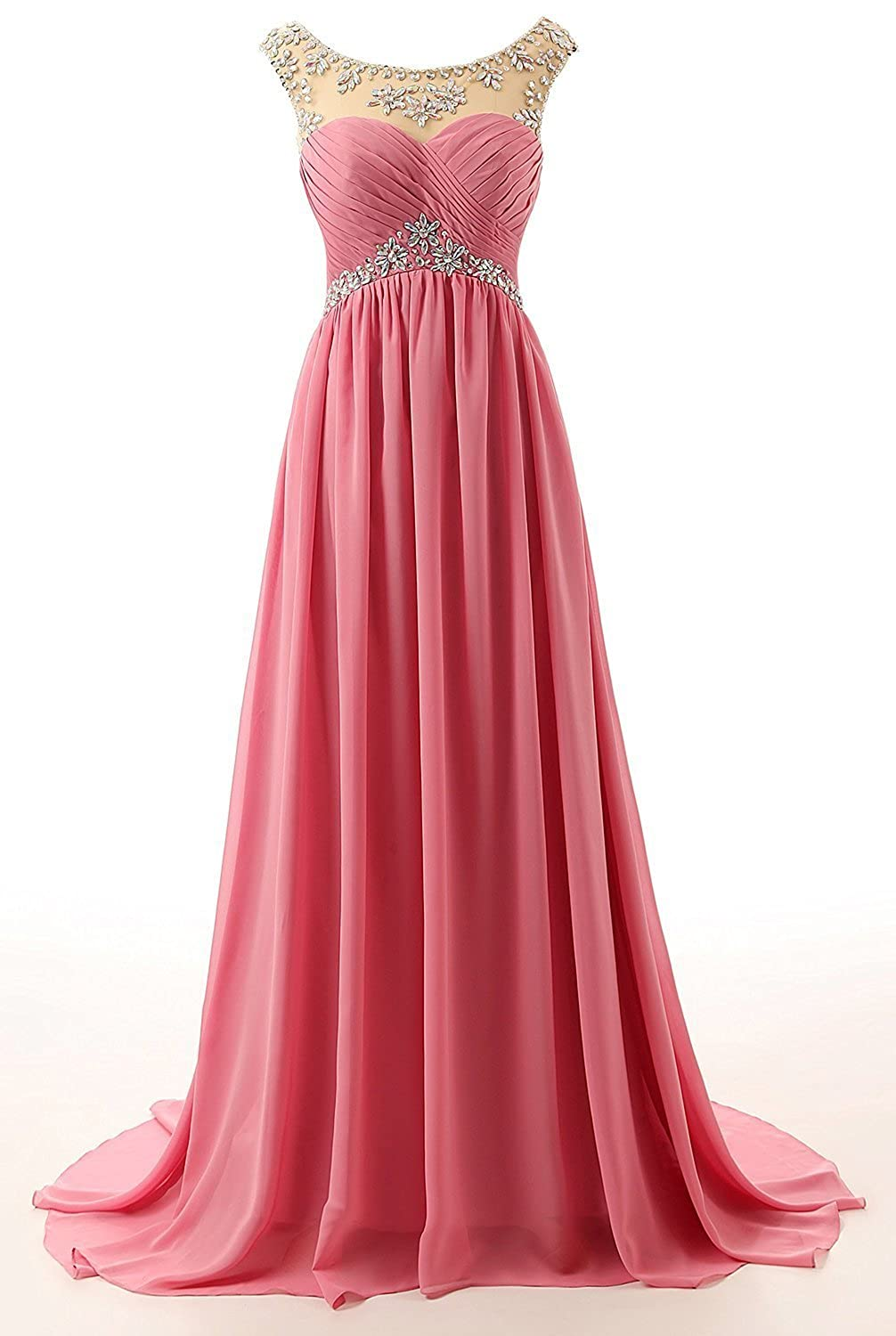 Ellenhouse Womens Beaded Bridesmaid Dress Long Prom Evening Gown EL066 at Amazon Womens Clothing store:
