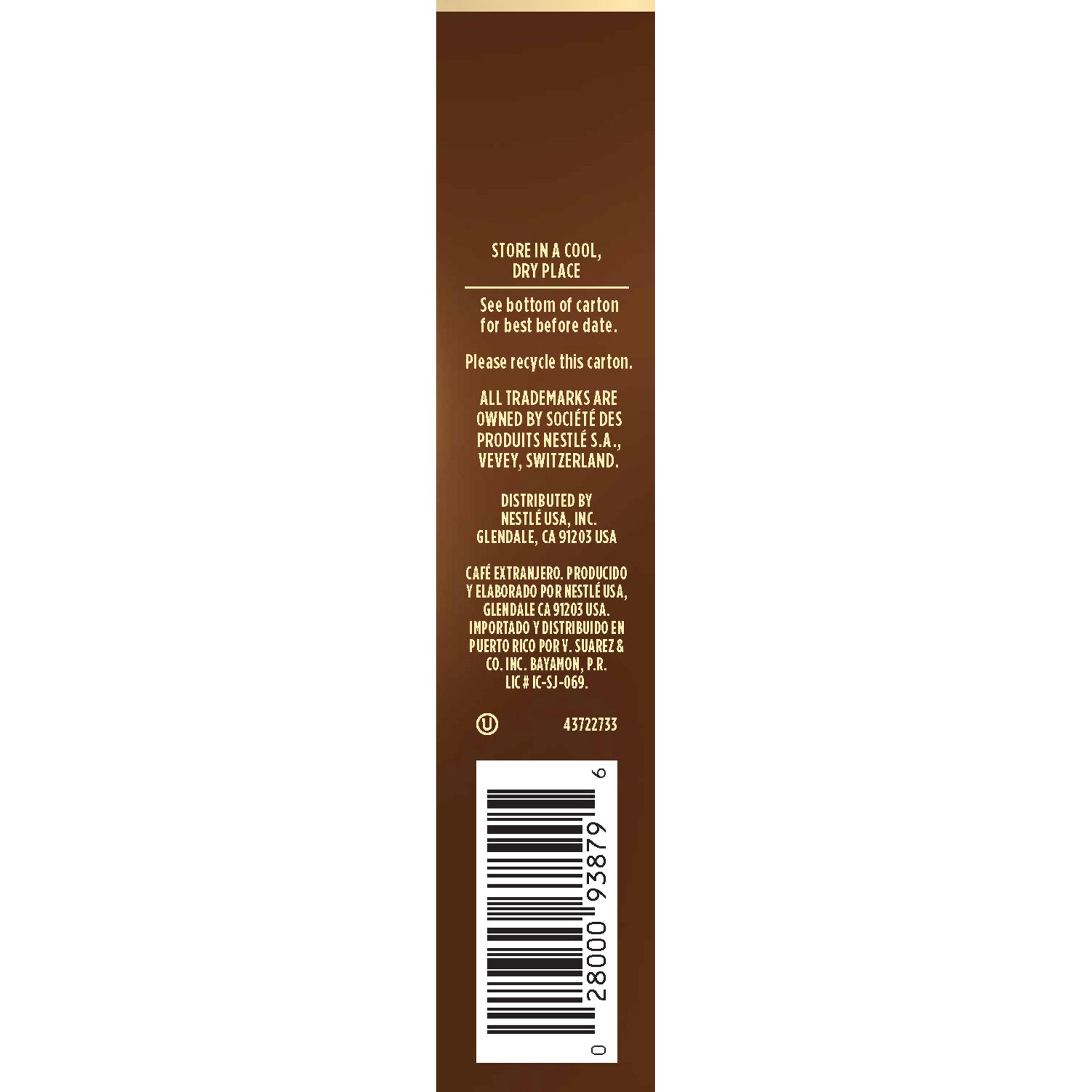 Nescafe Taster's Choice French 5 Piece Roast Instant Coffee Single Serve Sticks, 0.52 oz