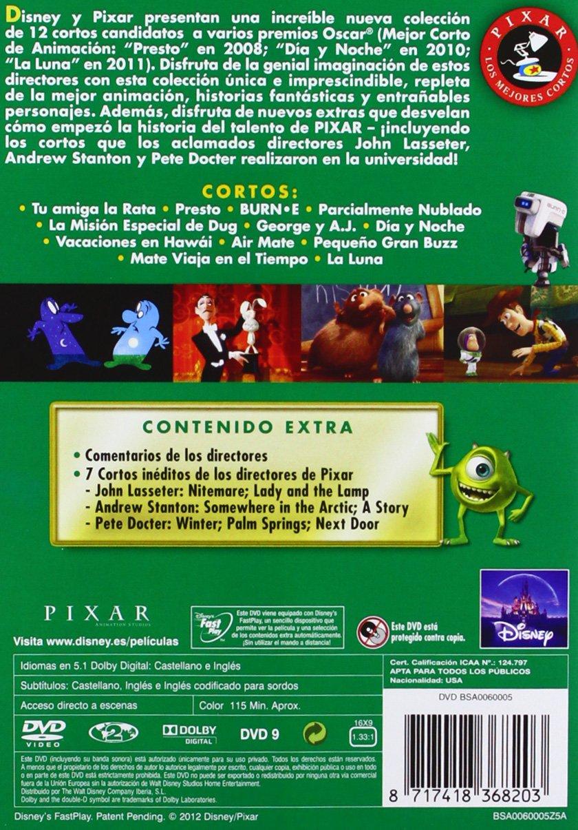 Los Mejores Cortos Pixar. Volumen 2 [DVD]: Amazon.es: Dibujos ...