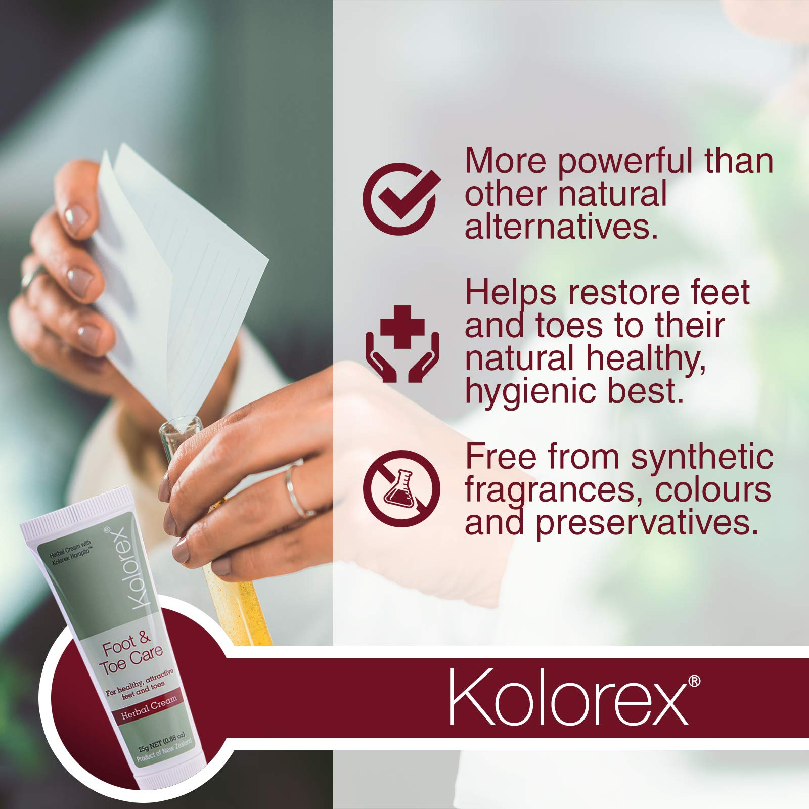 Kolorex Foot & Toe Care Cream 25gm by Kolorex (Image #3)