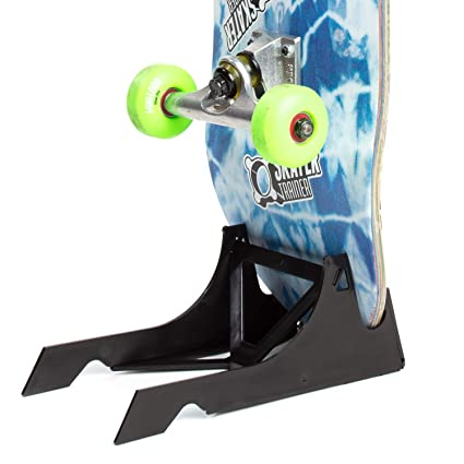Origami Skateboard Stand And Portable Skate Display Black