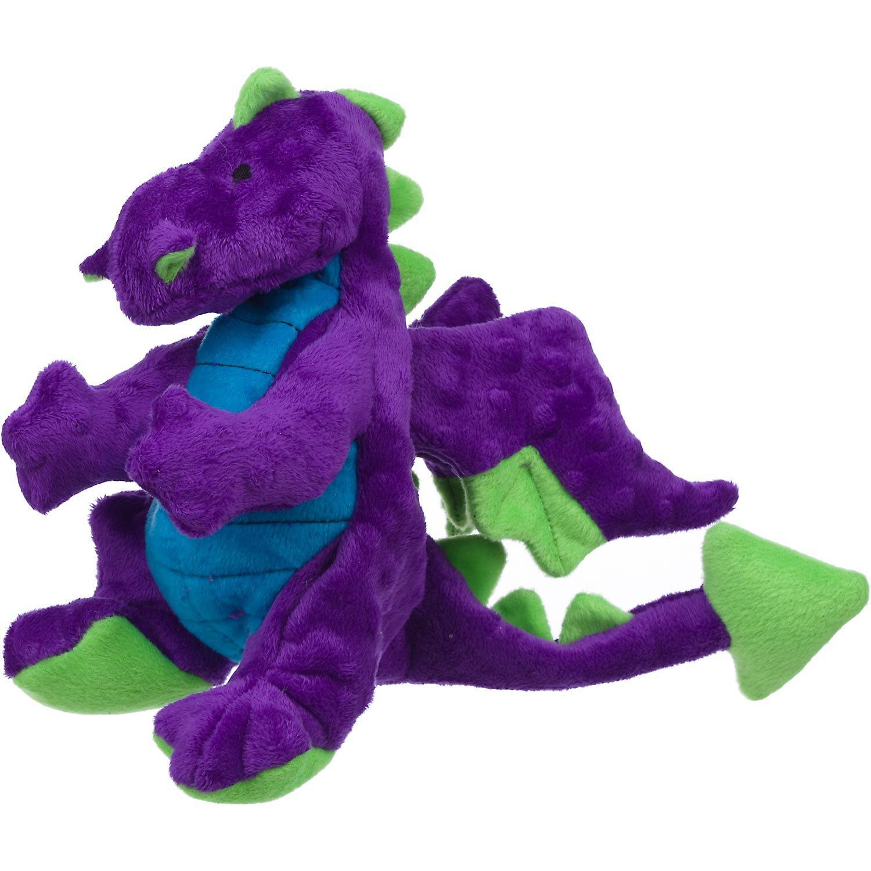 Sherpa Go Dog Plush Purple Dragon Dog Toy by goDog (Image #1)