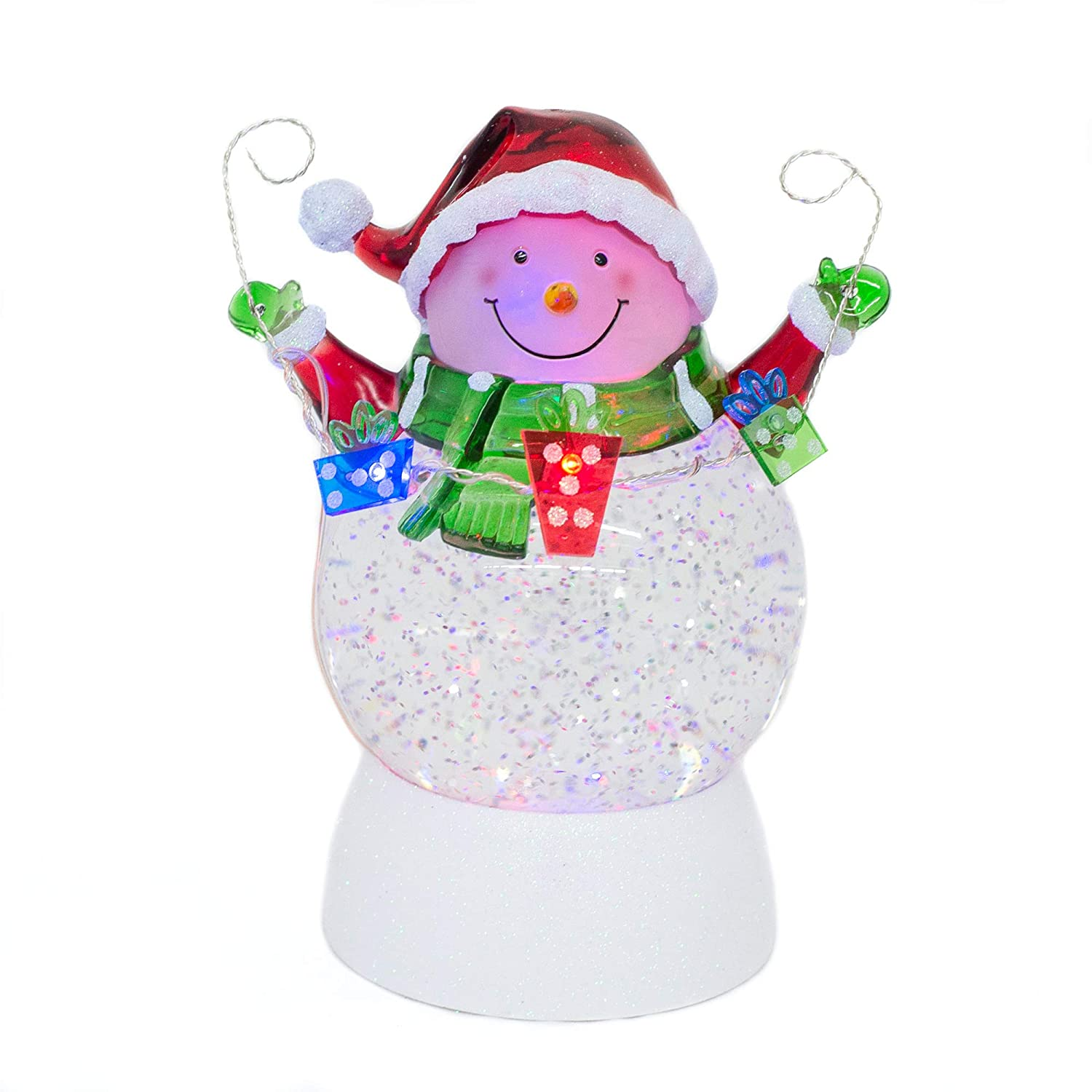 Roman Inc Bumble And Rudolph Snow Dome