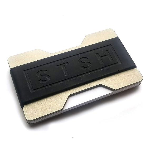 Amazon.com: STSH - Cartera mínima para llaves, tarjetas y ...