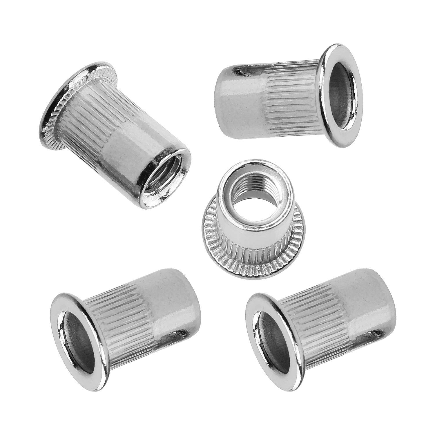 14MM Head Dia. 7MM Head Ht. 303 Stainless QTY-10 M8 X 1.25 Thread UNICORP MSCB551-2 Hex Socket Shoulder Screw- 10MM Shoulder Dia. 10MM Shoulder Lg.