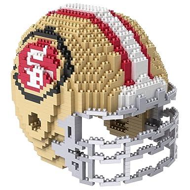 c5c3d2e44cc San Francisco 49ers 3D Helmet BRXLZ Puzzle  Amazon.co.uk  Clothing