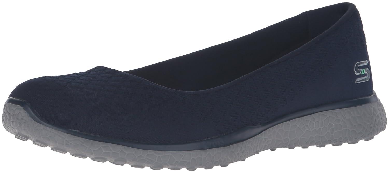 Skechers Damen Microburst-One up Sneaker  39 EU|Marineblau