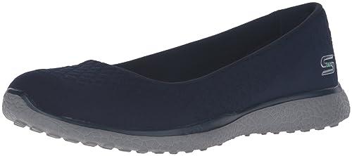 Skechers Microrafale Un, Chaussures Femmes, Beige (naturel), 38 Eu