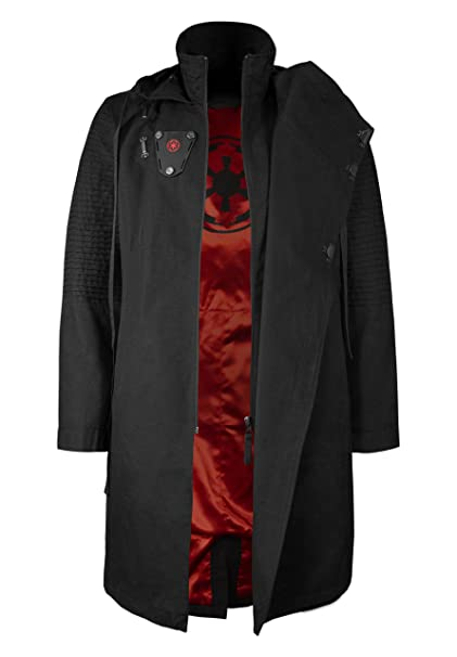 Musterbrand Star Wars Chaqueta Hombre Sith Lord Chaqueta Negro XS