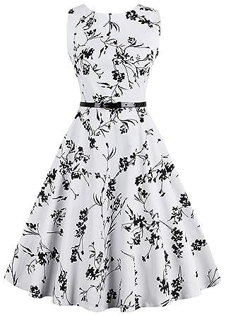2641a74b61 Joansam Audrey Hepburn Vestidos 50s Party Swing Dresses Women Summer ...