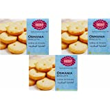 Karachi Bakery Osmania Biscuits, 400g (Pack of 3)