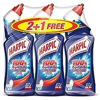 سائل هاربيك الاصلي لتنظيف المراحيض وازالة الرواسب الكلسية، 750 مل - 2+1 مجانًا