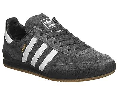 super popular 04ad9 71f6f adidas Zapatillas Jeans Carbón Blanco Negro Talla  46-2 3  Amazon.es   Zapatos y complementos