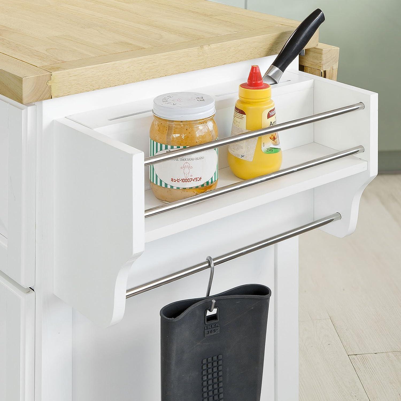 Amazon.de: SoBuy FKW41 Küchenschrank Sideboard, Kücheninsel Küche ...