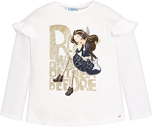 Mayoral 18-04050-066 - Camiseta Manga Larga para niña 5 años: Amazon.es: Ropa y accesorios