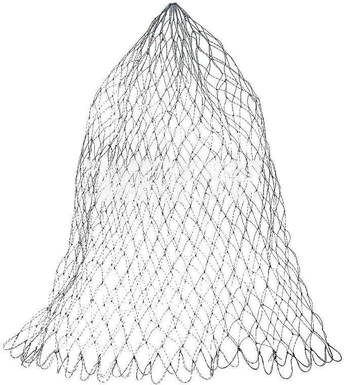 42,5-Zoll-Clear-Ersatznetz für Fliegenfischen-Kescher