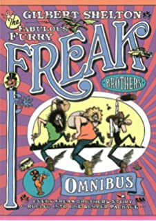 Amazon the book of mister natural 9781606993521 robert crumb the fabulous furry freak brothers omnibus fandeluxe Gallery