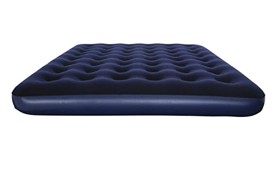 Amazon.com: Bestway Comfort Quest Flocked Single Air Bed - Blue, 185 x 76 x 22 cm by Comfort Quest: Kitchen & Dining