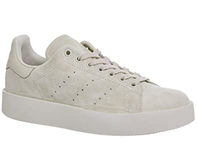 Adidas Stan Smith Bold W, Chaussures de Fitness Femme, Beige (Lino/Lino