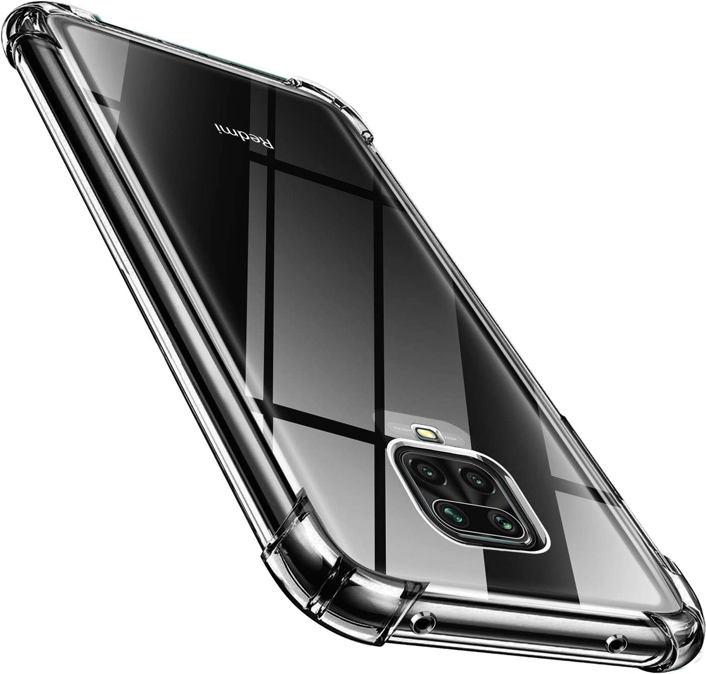 ivencase Samsung Galaxy A42 5G Case Air Cushion TPU Silicone Clear Case Shockproof Bumper Anti-Shock Anti-scratch Phone Cover Case for Samsung Galaxy A42 5G