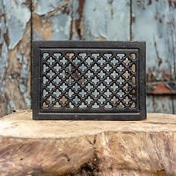 horno-decoración aire caliente rejilla rejilla de ventilación Rejilla de ventilación hierro fundido