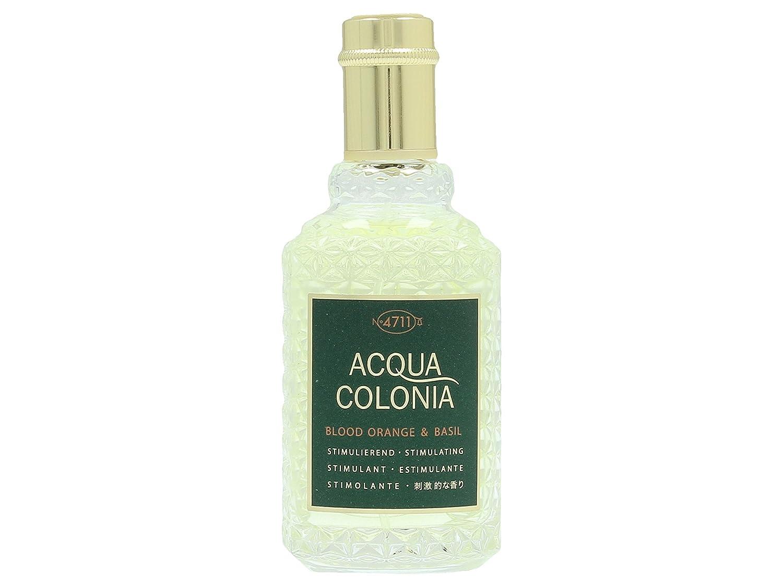 4711 Acqua Colonia Blood Orange and Basil Eau de Cologne Spray for Unisex 50 ml 4011700742578