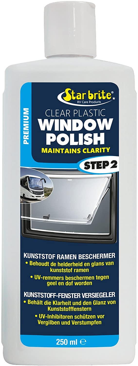 Star Brite Kunststoff-Fenster Pflege | Window Polish Caravan & Camper 250ml Star Brite Premium Care