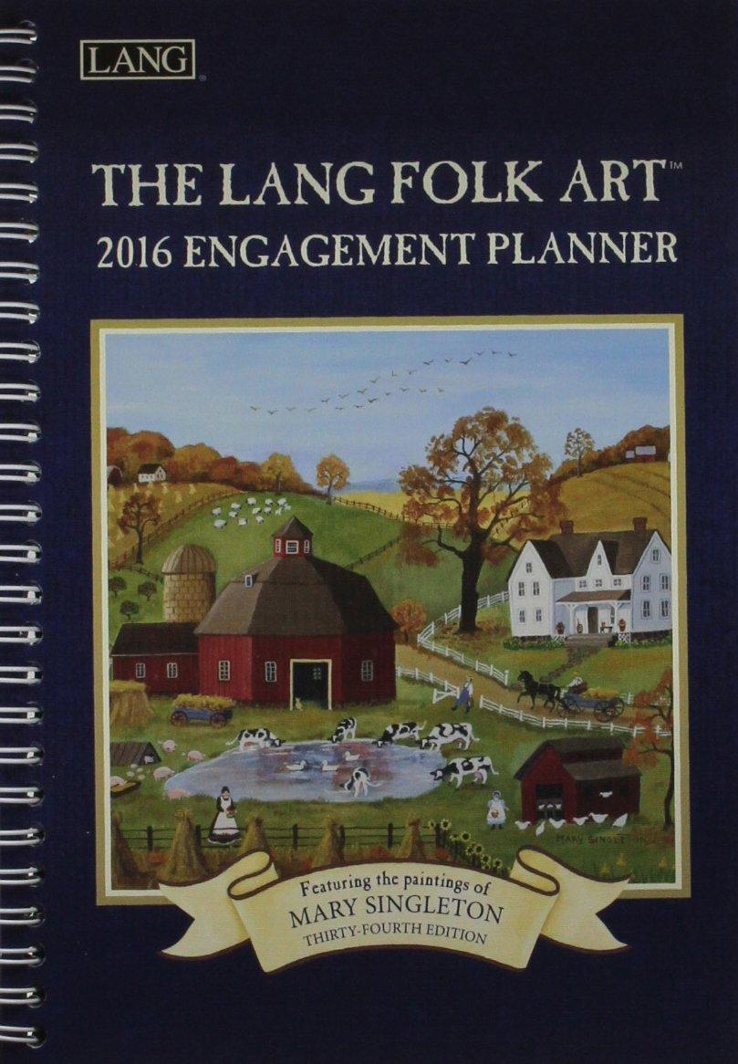 Read Online The Lang Folk Art 2016 Planner pdf