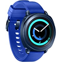 "Samsung Gear Sport - Smartwatch, Tizen, 768 MB de RAM, memoria interna de 4 GB, color azul, 1.2""- Version española"
