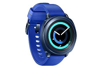 Samsung Gear Sport - Smartwatch, Tizen, 768 MB de RAM, memoria interna de 4 GB, color azul, 1.2