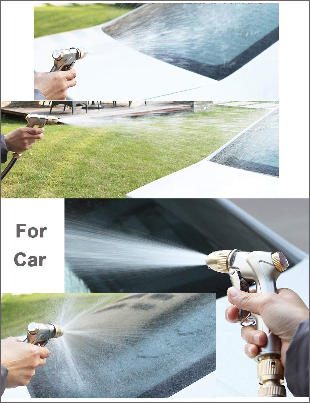 Nettoyage de Trottoir arrosage des Plantes Lifreer 1 Pistolet pulv/érisateur de Tuyau darrosage de Douche de Jardin Pont Pistolet pulv/érisateur pour Lavage de Voiture