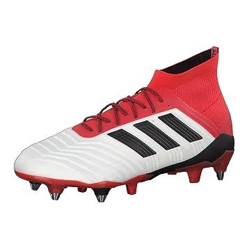 adidas Predator 18.1 FG, Chaussures de Football Homme, Noir (Cblack/Cblack/Reacor Cblack/Cblack/Reacor), 39 1/3 EU
