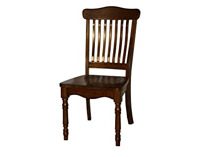 Vintage Wooden Chairs >> Amazon Com Vintage Oak Collection Chairs