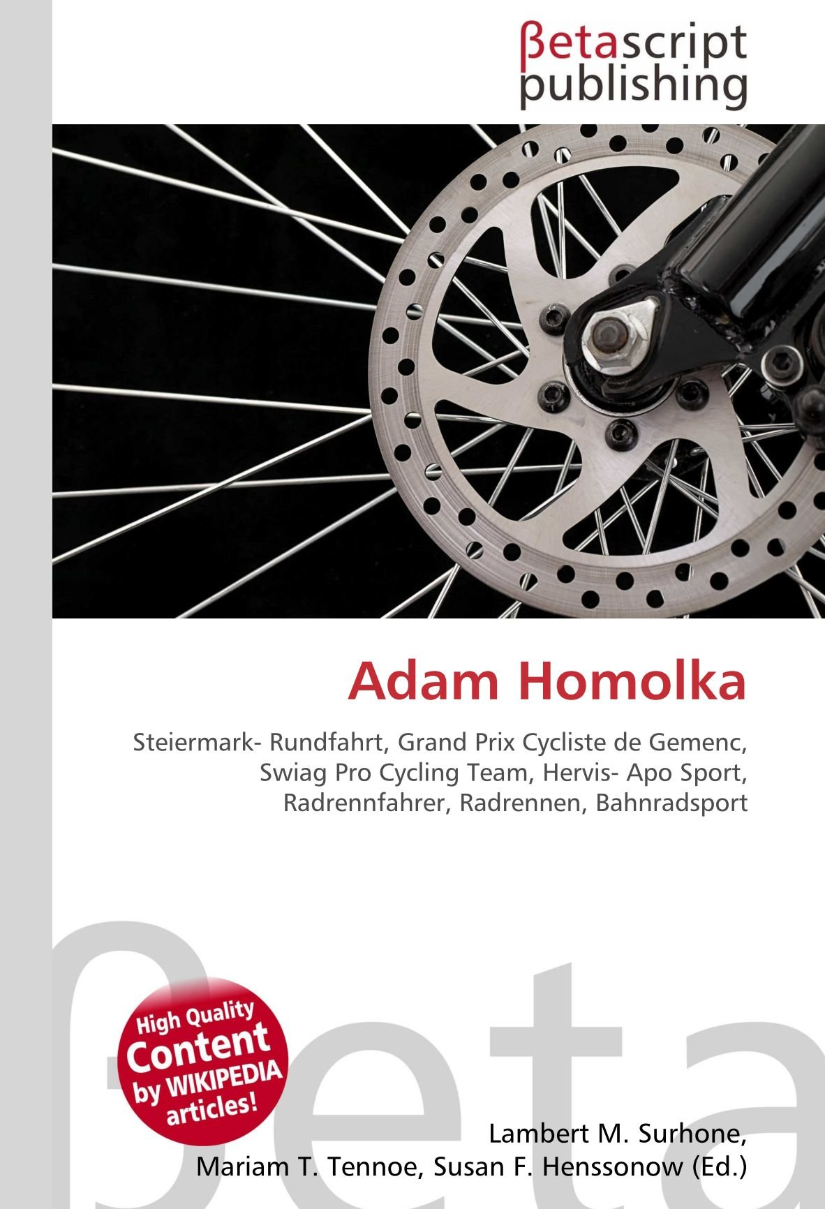 Adam Homolka: Steiermark- Rundfahrt, Grand Prix Cycliste de Gemenc ...