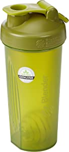 BlenderBottle Classic Loop Top Shaker Bottle, 32-Ounce, Moss Green