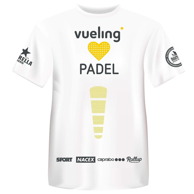 Camiseta Manga Corta Técnica Joma Vueling Cup Hombre: Amazon.es ...