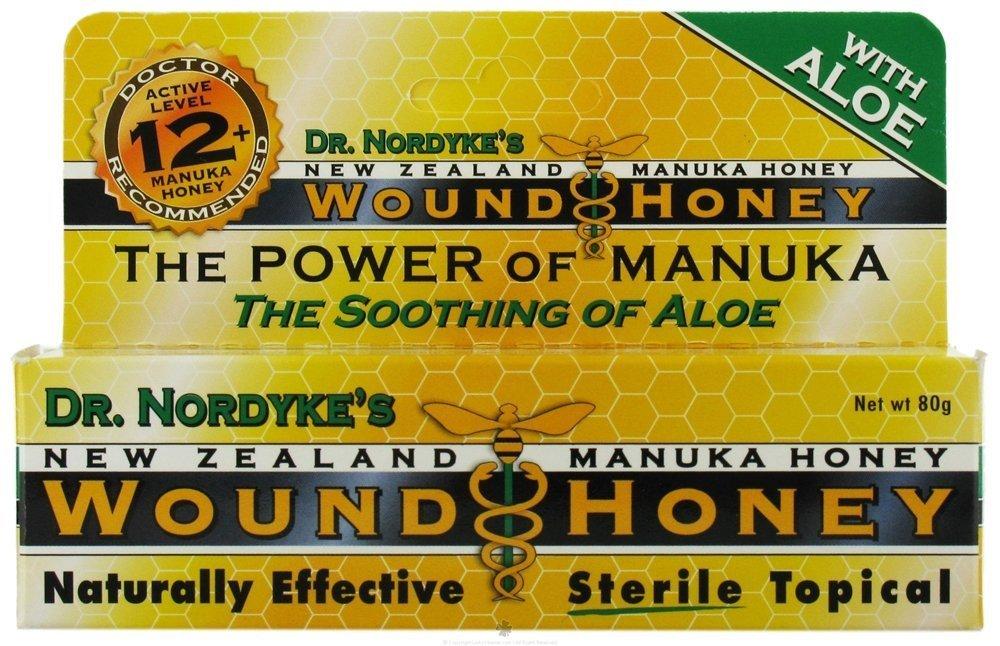 Eras Natural Sciences' Wound Honey, Manuka Honey, Wound, 80 Grams (2.8 ounces)