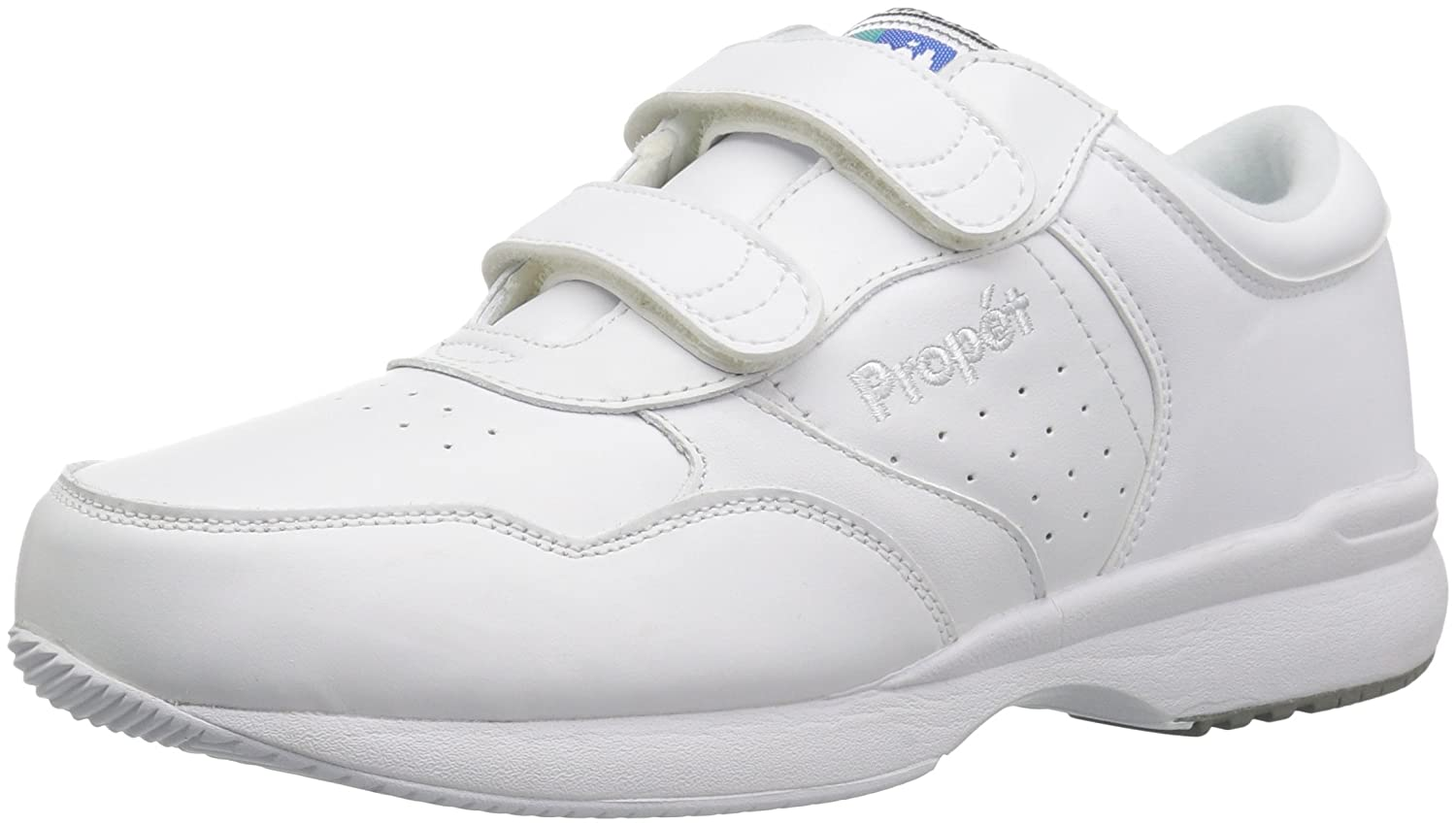 Propet Life Walker 2 Men/'s Walking Shoes White New in the Box
