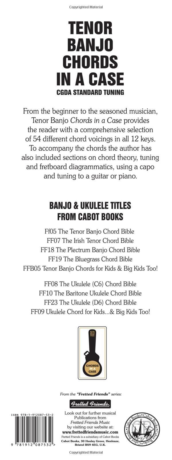 Tenor Banjo Chords In A Case Cgda Standard Tuning 1 512 Chords In