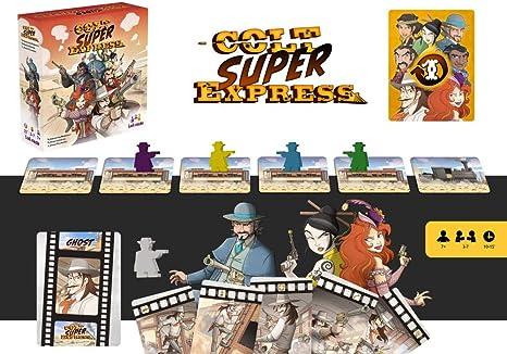 Ludonaute Colt Express / Colt Super Express (juego francés): Amazon.es: Juguetes y juegos