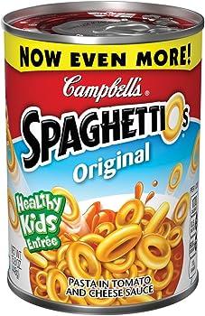 4-Pk SpaghettiOs Original Pasta, 15.8 Ounce