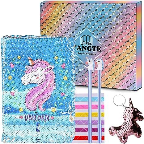 Amazon.com: TIANXIN Cuaderno de unicornio, diario de ...