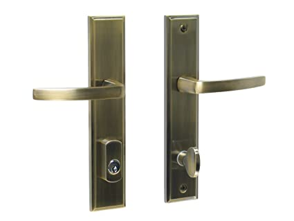 Captivating Catalina By FPL  Solid Brass Active Trim Only Lever Set For Multipoint Lock,  Schlage