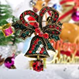 MECHOSEN Christmas Brooch Jingle Bell Brooch Pin
