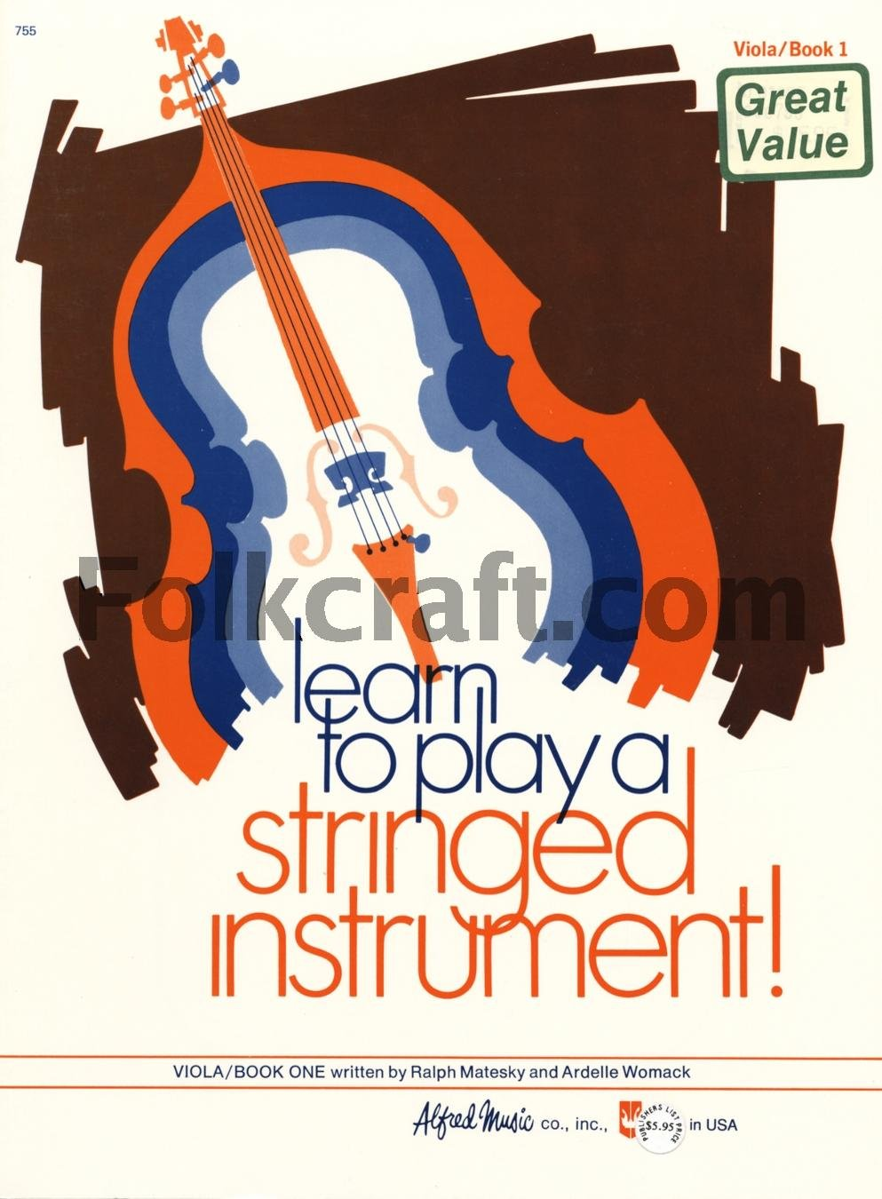 Learn to Play a Stringed Instrument, Book 1 Book Viola
