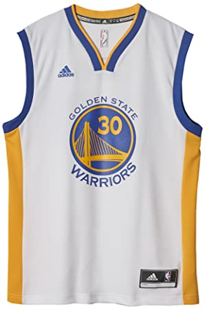 Adidas A21107 Camiseta Golden State Warriors de Baloncesto, Hombre, Blanco, 4XL: Amazon.es: Deportes y aire libre