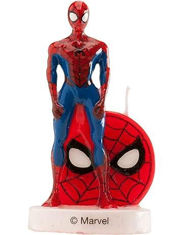 Vela 3D de Spiderman 9 cm